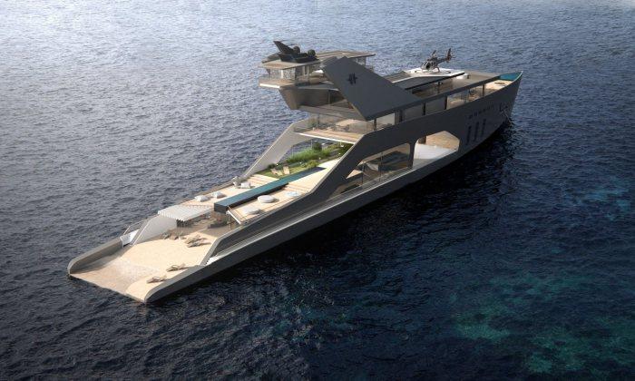 модели роскошь уникальный дизайн эстетика яхты