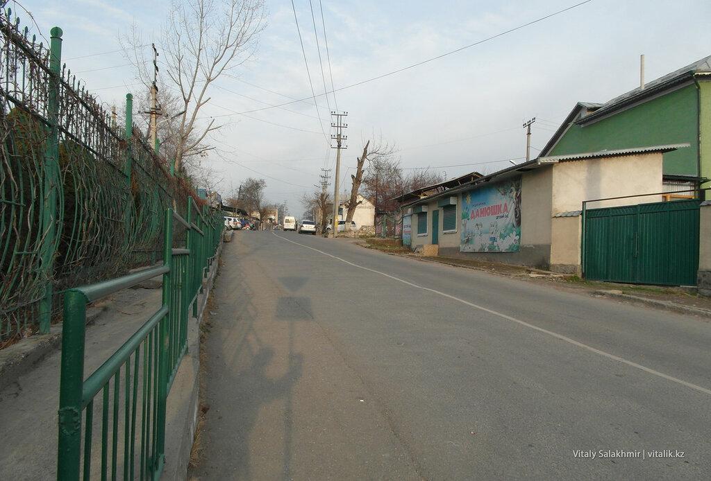 Рядом с улицей Масалиева