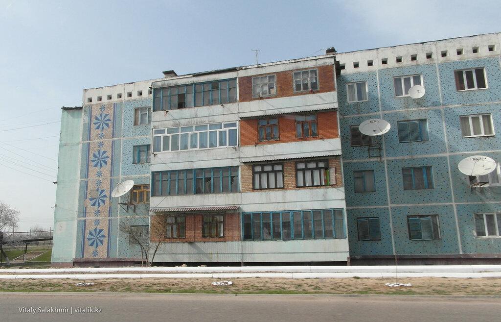 Колоритные дома Узбекистана