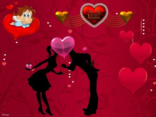 Поздравляю всех с Днем Святого Валентина!