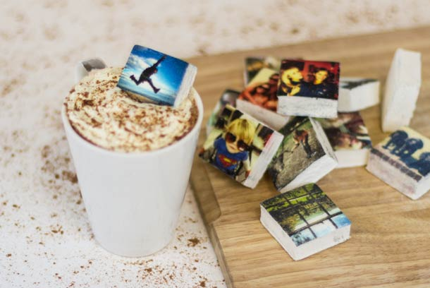 Turn your Instagram pictures into marshmallows…