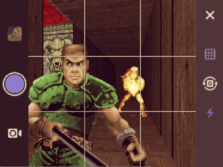 Doom Selfie – Fans add a Selfie Stick and 37 Instagram filters to the famous game (8 pics)