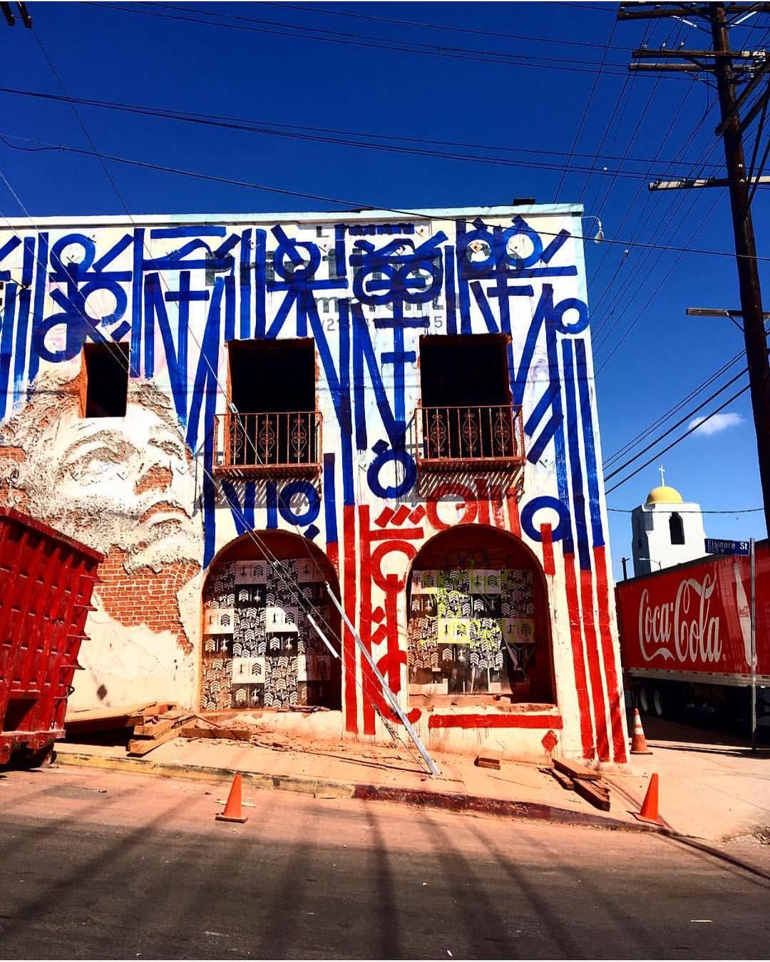 Streets: Vhils x Retna (Los Angeles)