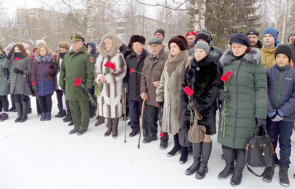 Митинг памяти погибших воинов-интернационалистов
