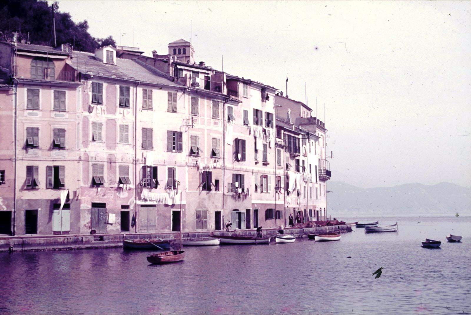 Портофино. Дома на берегу