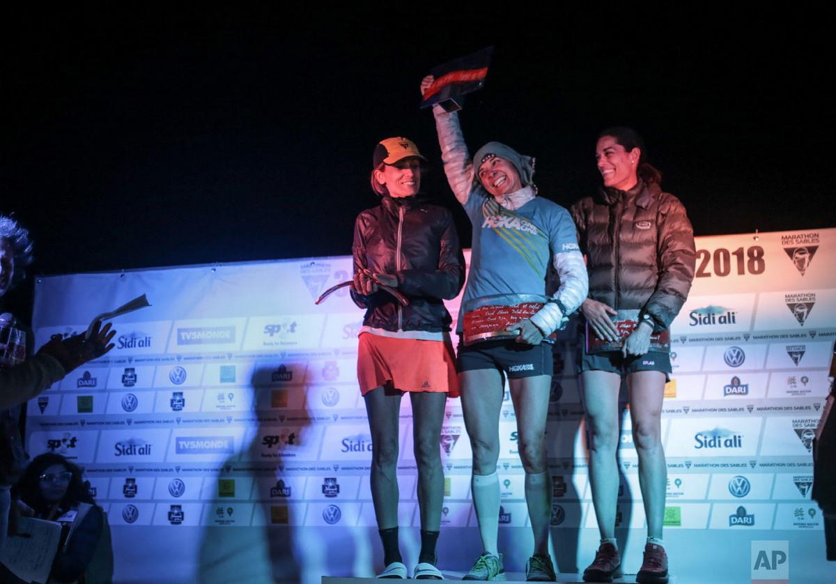 Завершился изнурительный марафон Marathon des Sables