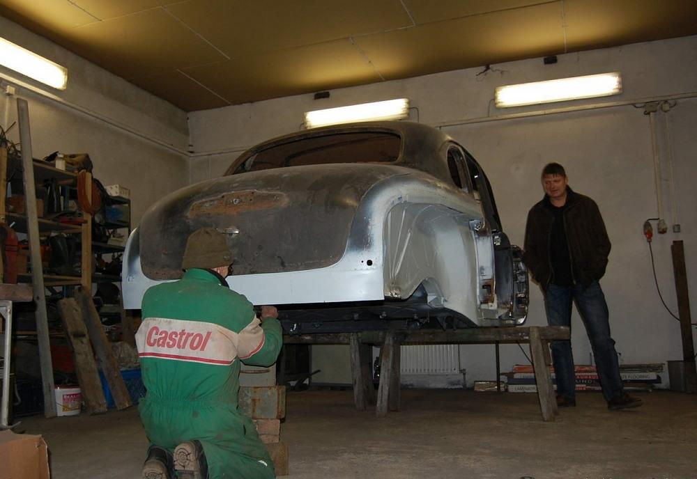 Реставрация ГАЗ-12