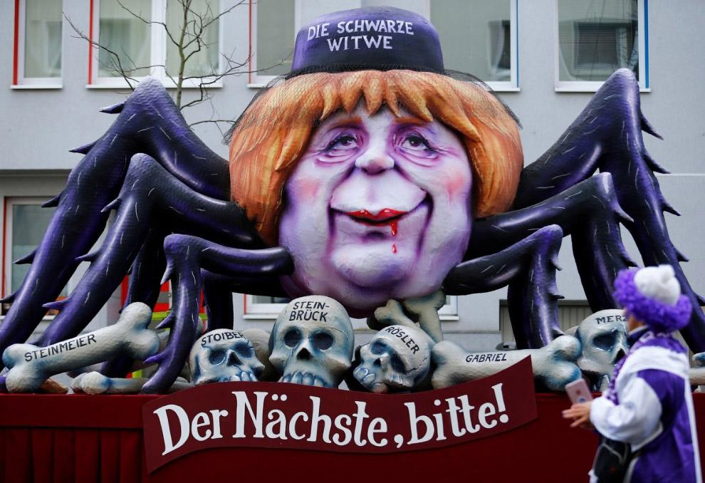 Германия Дональд Трамп карнавал политики США карнавалы президенты