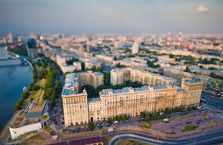 Миниатюрная Москва (24 фото)