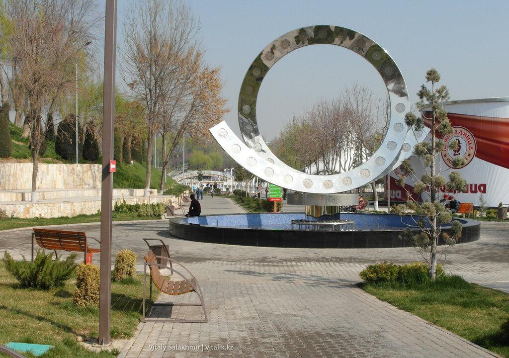 Искусство в парке Бабура, Узбекистан