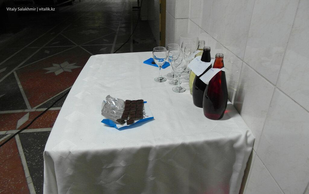 Дегустация вина на заводе Бахус в Алматы