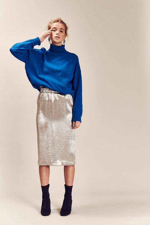 Jumper: Asos White Skirt: Zara Shoes: Asos Earrings: Asos