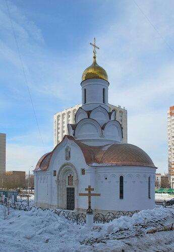 ерковь Владимира, митрополита Киевского, в Свиблово