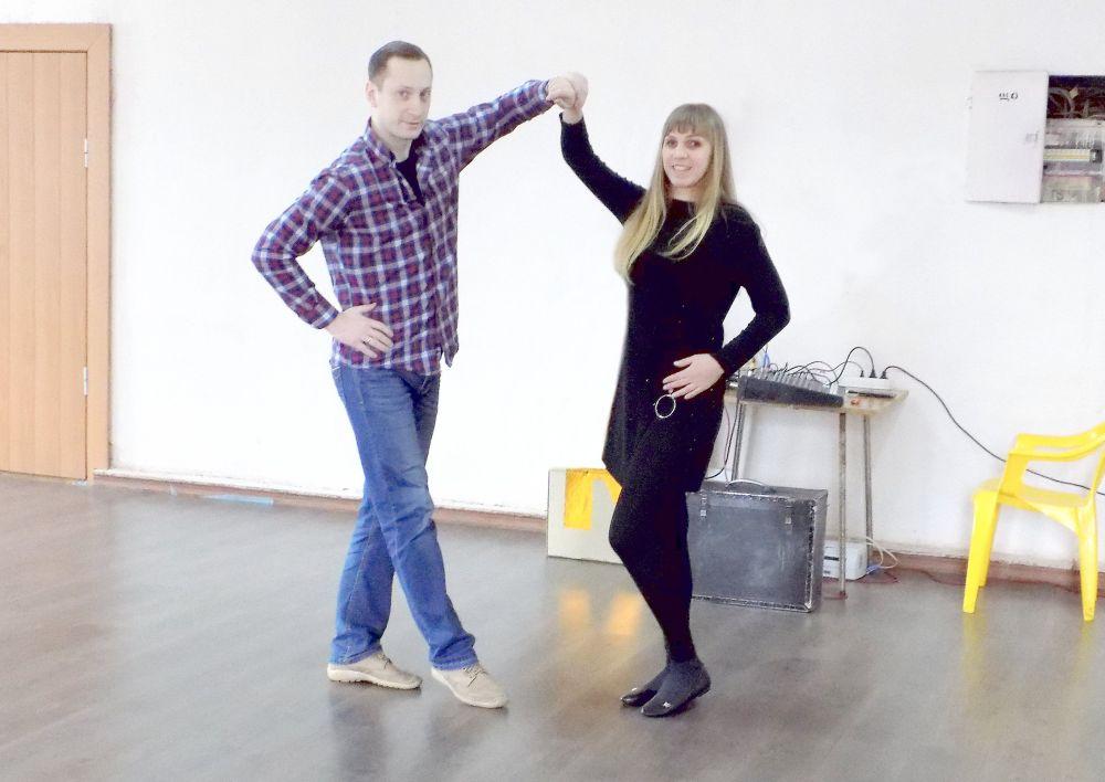 Катя Шустова и Виктор Незнамов