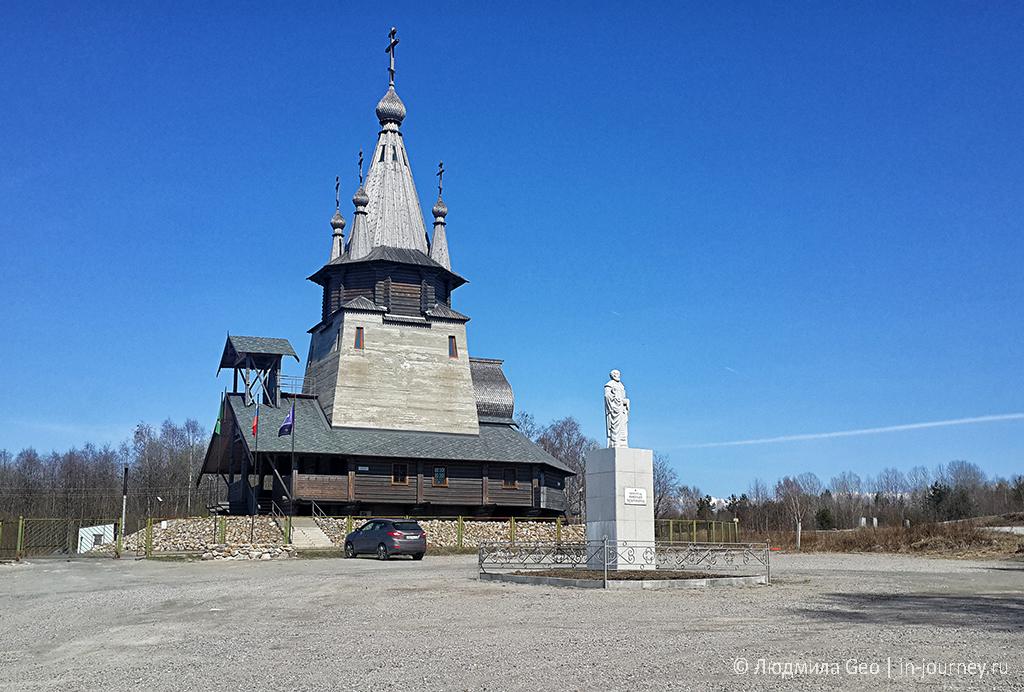 церковь в поселке Повенец