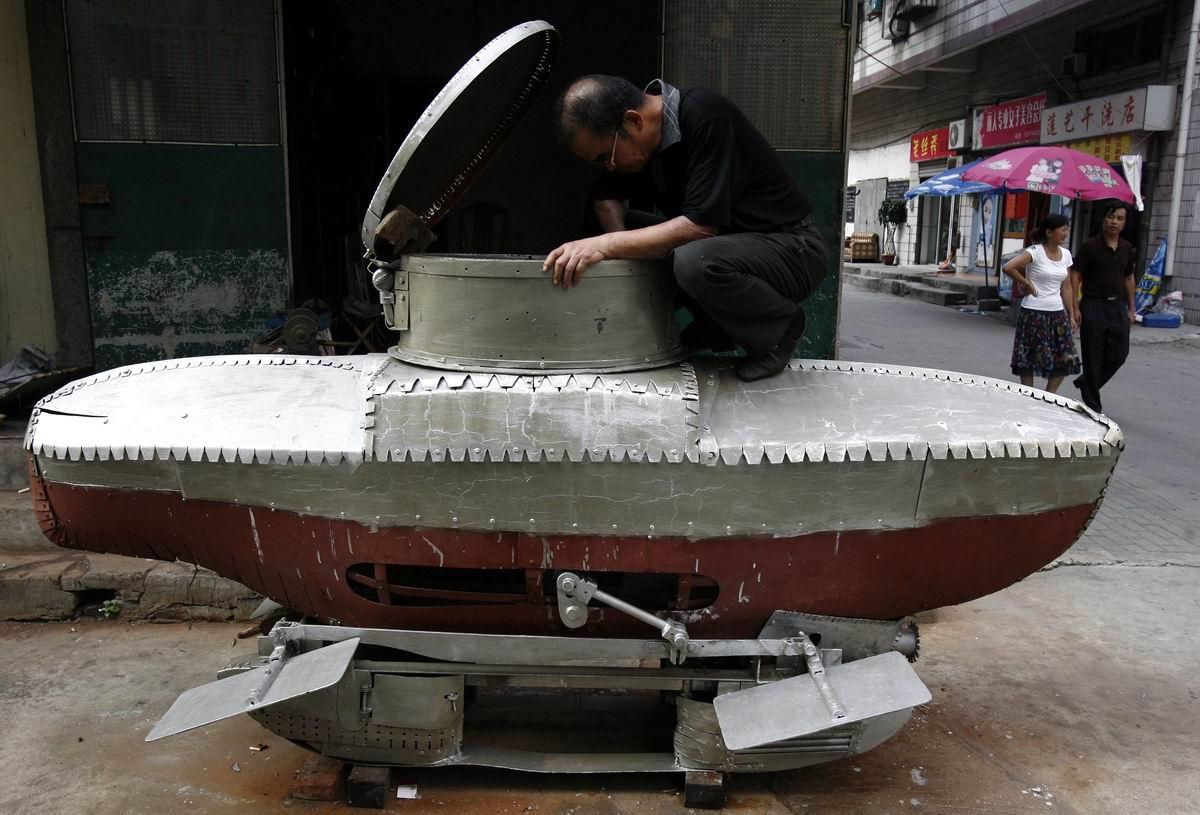 К погружению готов: Доморощенный китайский подводник