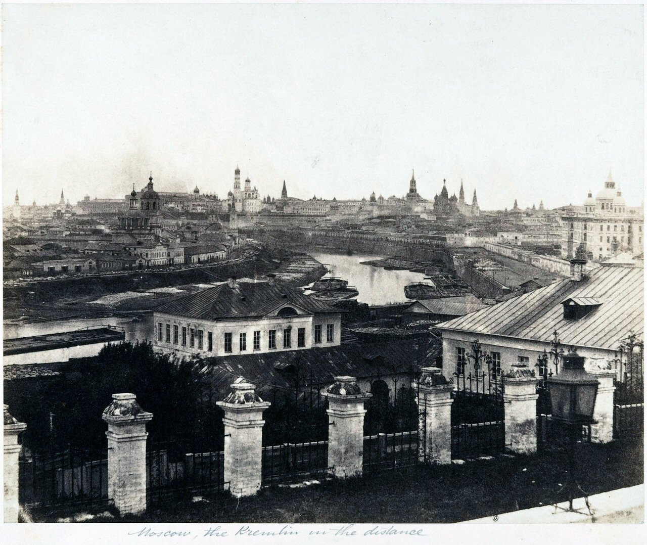 Moscow since Nicholas I Fenton, residence, Palace, von Schulz, Temporary, Kremlin, Panorama, Pokrovka, coronation, in front of the manor, Mobius, several, pictures, Church, Assumption, square, Devonshire, Theater, Lord