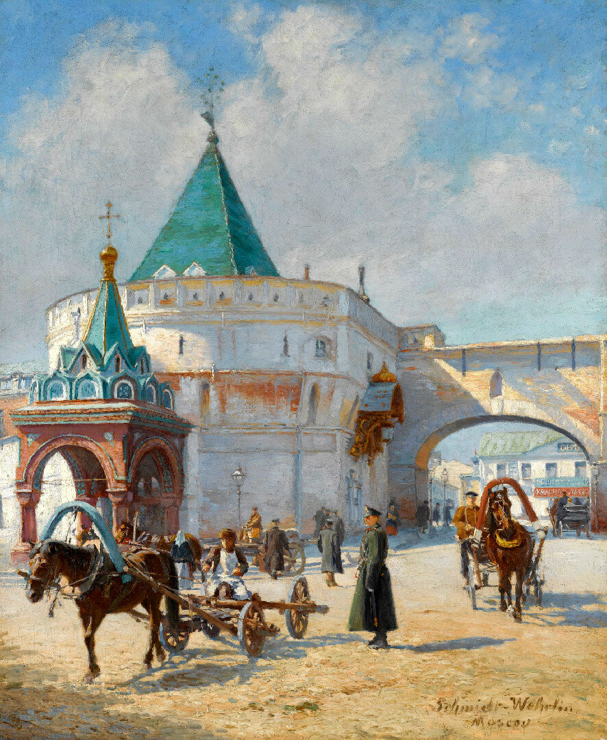 463456 Варварские ворота Еmile Schmidt-Wehrlin 1890-е.jpg