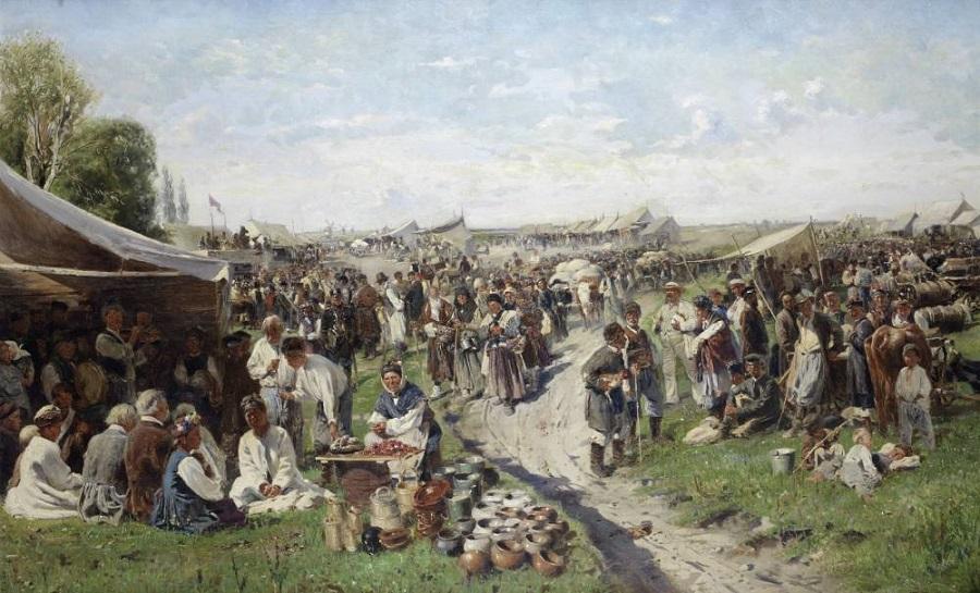 Fair Little Russia, 1885.