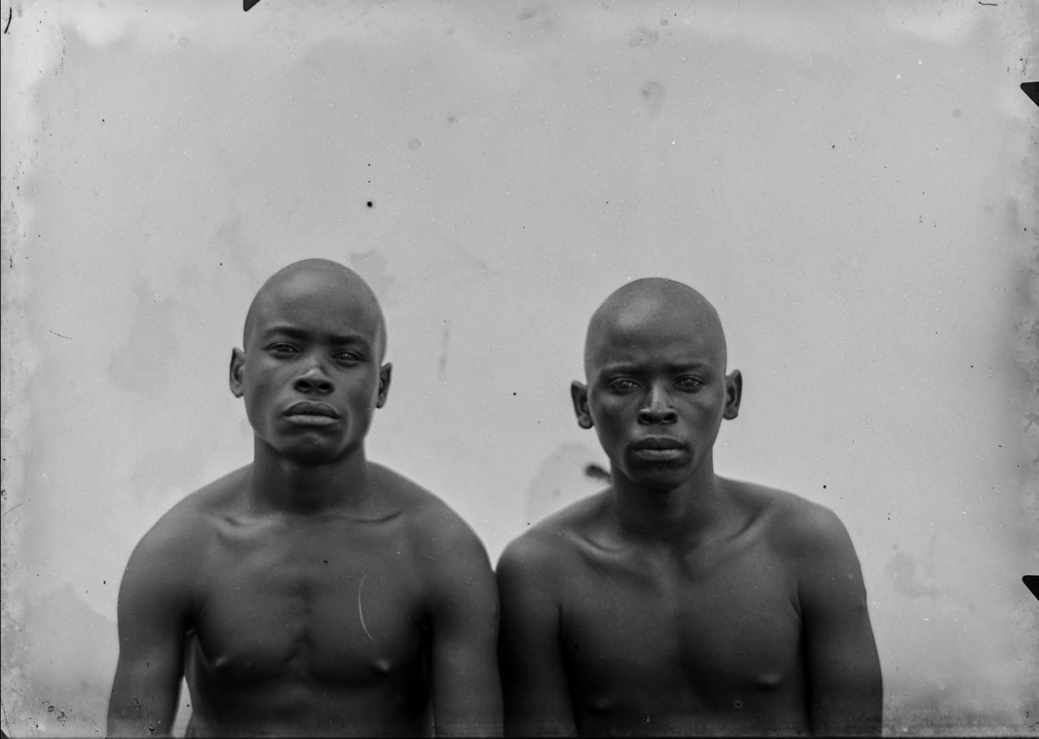 88. Портрет двух мужчин