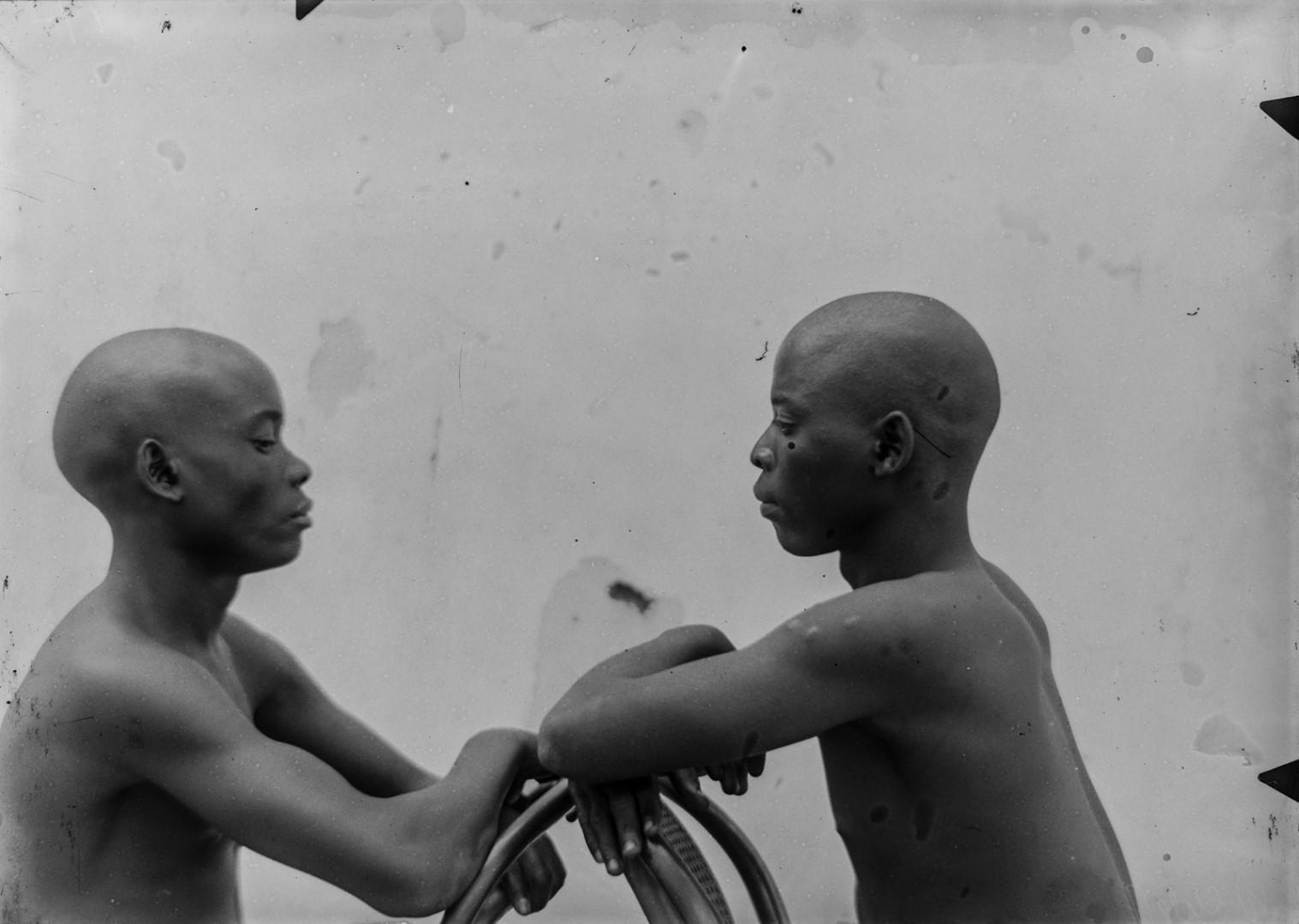 87. Портрет двух мужчин