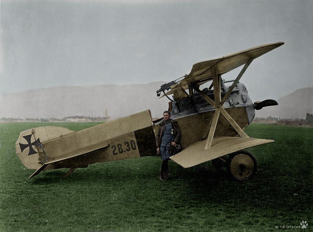 Авиация Первой мировой в цвете - 3. ( 17 фото )