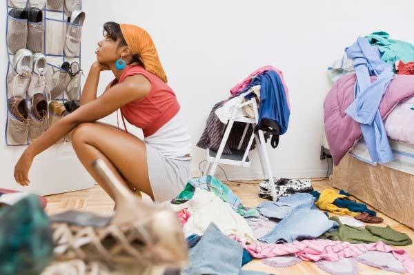 избавиться от старой одежды