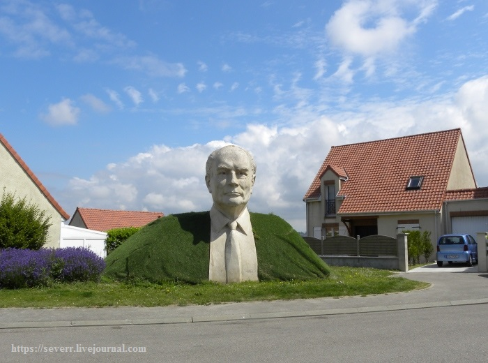 скульптюры нашего городка