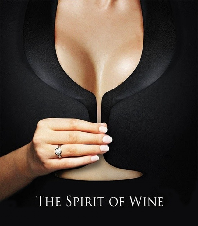 © thespiritofwine     «Дух вина».    18. Реклама пива Guinness