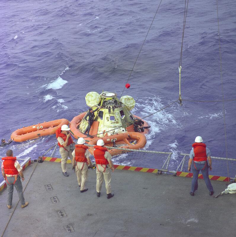 Apollo 8 Recovery