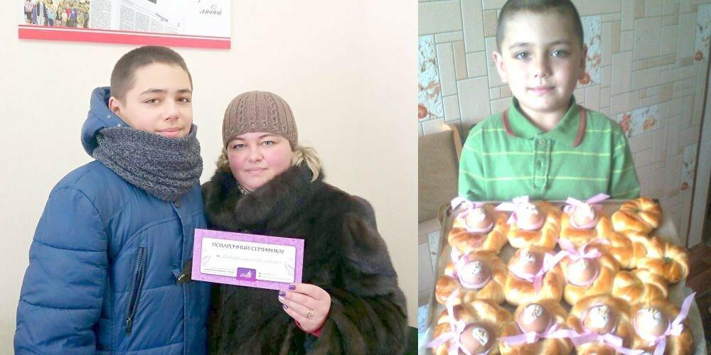 Победительница конкурса Юлия Бетина
