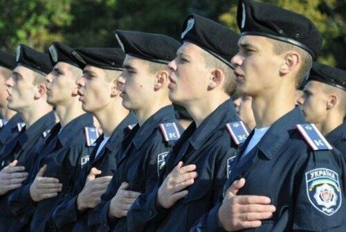 Университет МВД в Харькове отмечает выпуск студентов