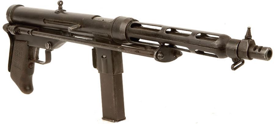 La pistola mitragliatrice Giandoso TZ-45 / Пистолет-пулемёт Giandoso TZ-45