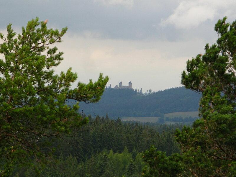 Вид на Град Кашперк