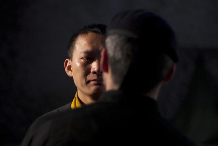 Как готовятся элитные китайские телохранители. Фотографии