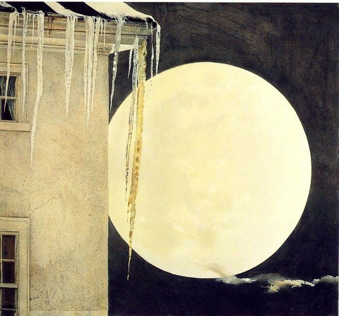 Andrew Newell Wyeth. Moon Madness. 1982