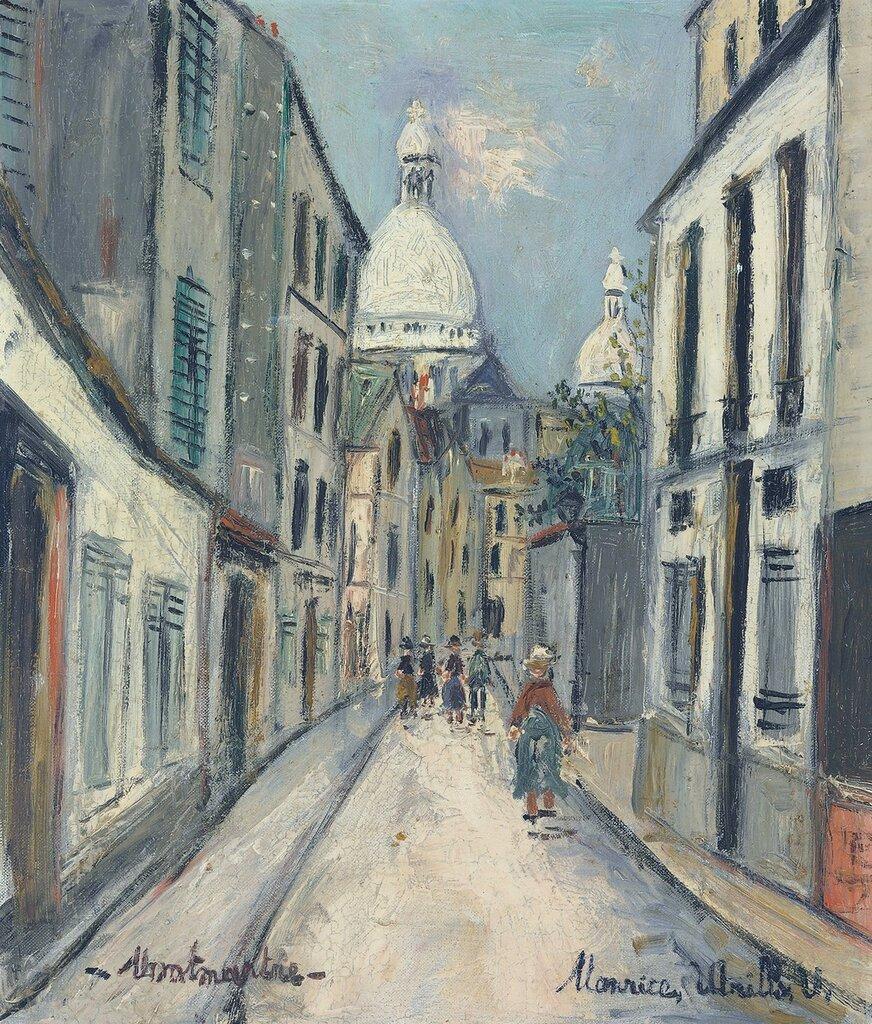 Rue Chevalier de la Barre at Montmartre, 1950.jpg
