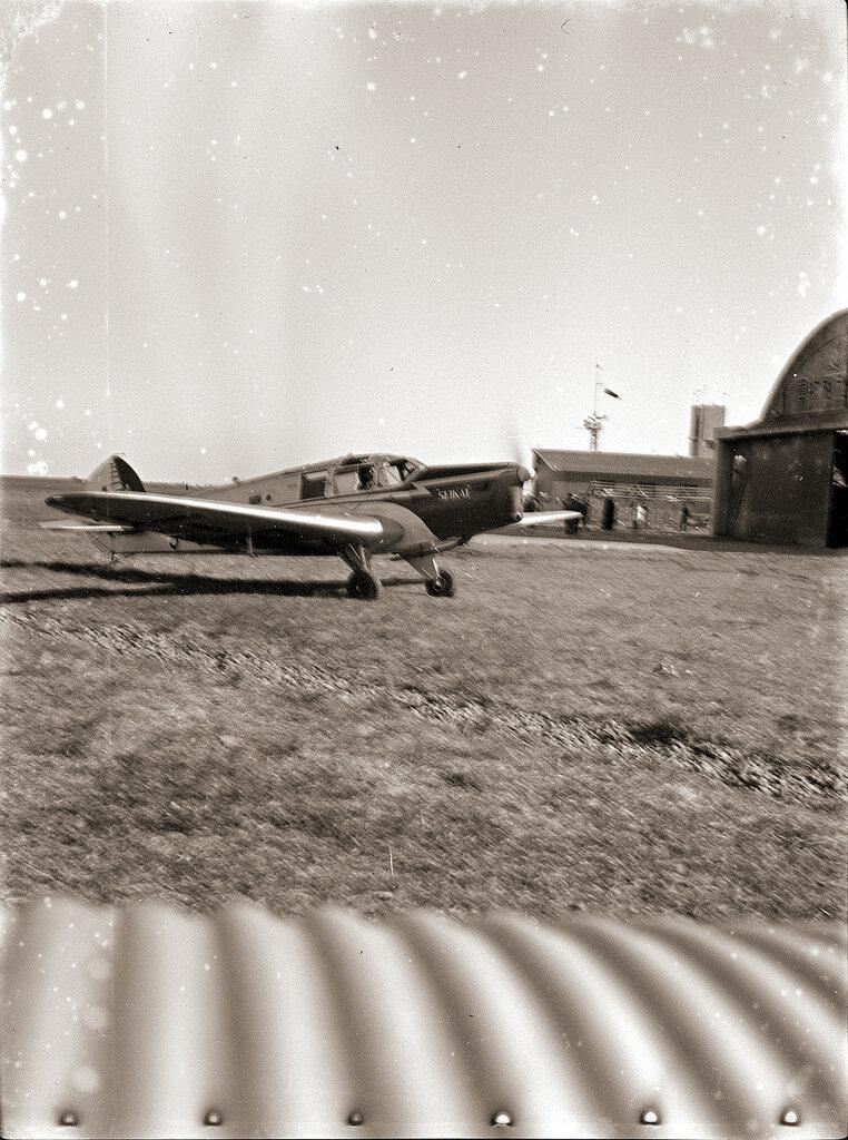 British Aircraft Eagle 2 plane with the text SEKAI