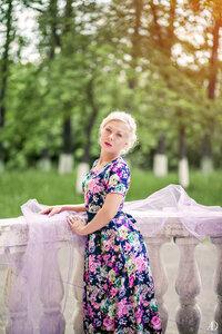 летняя фотосессия в парке