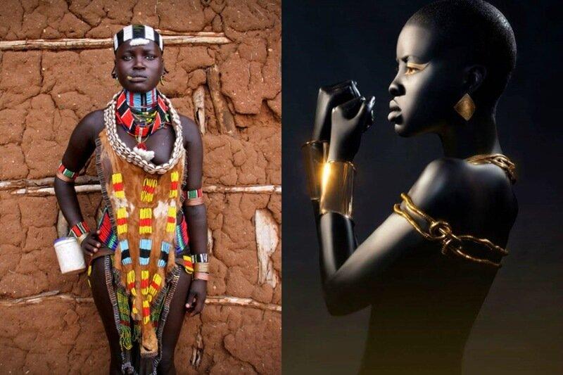 Африканская красота, черные женщины на фото Бейли Харада Стоун 0 19508b f32bf3dd XL