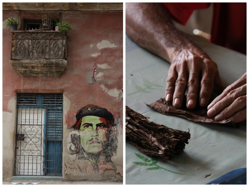 Неоспоримые символы Кубы— Эрнесто ЧеГевара икубинские сигары.