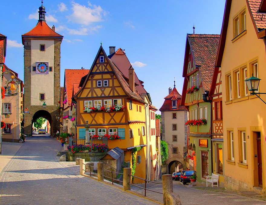 Ротенбург, Германия.