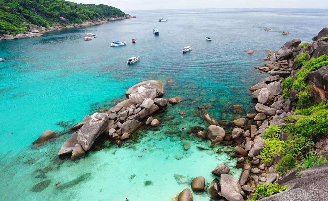 Симиланские острова Таиланд Таиланд остается признанным фаворитом путешественников со всего мира. Но