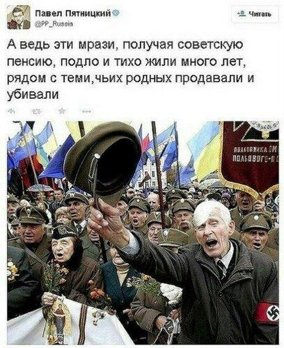 Русский мир как лекарство от «плесени» неонацизма