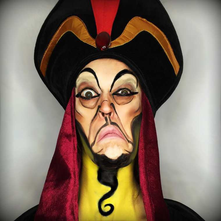 Pop Culture Makeup - A makeup artist is turning herself into 100 cult characters
