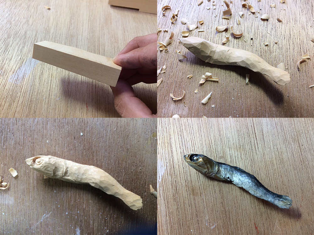 Whittled Vittles: Realistic Foods Carved from Wood by Seiji Kawasaki (11 pics)