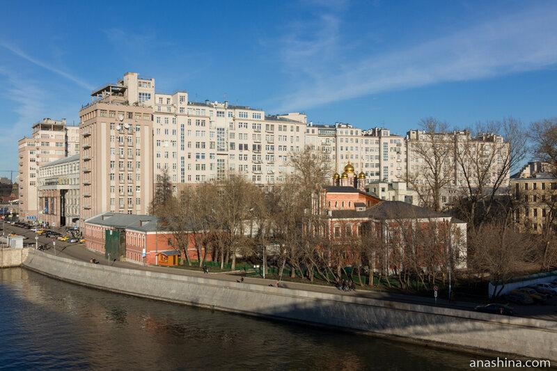 Палаты Аверкия Кириллова , Дом на набережной, Москва