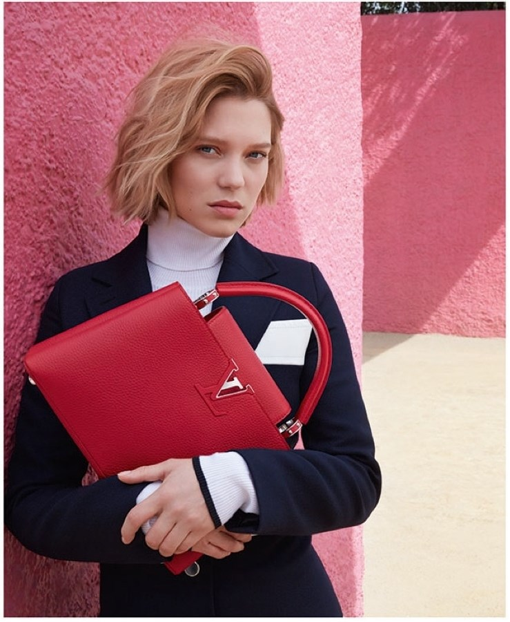 Lea Seydoux for Louis Vuitton Ad Campaign 2