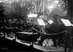 1916. 17 сентября. Франко-сербский фестиваль. Сад Тюильри, концерт сербского королевского оркестра