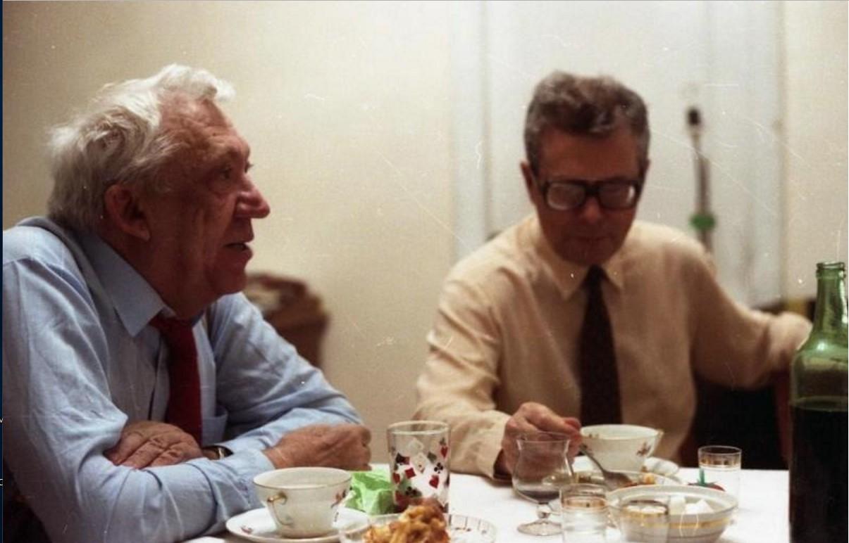 1980-е. Юрий Никулин дома